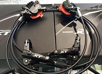 Shimano XT Disc Brake Set M8020 4 Piston: Amazon co uk