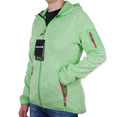 Strickfleecejacke Damen CMP Outdoor Fleecejacke dünn Sweatjacke mit Kapuze  Strickjacke große Größen Kiara II  Amazon.de  Bekleidung 06406397d7
