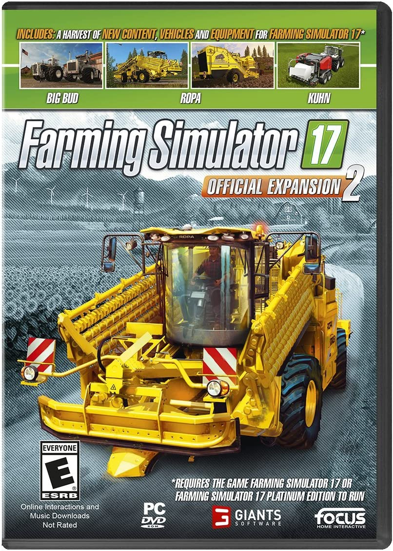 Amazon com: Farming Simulator 17 Official Expansion 2 - PC