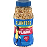 Planters Peanuts, Dry Roasted & Lightly Salted, 16 Ounce Jar