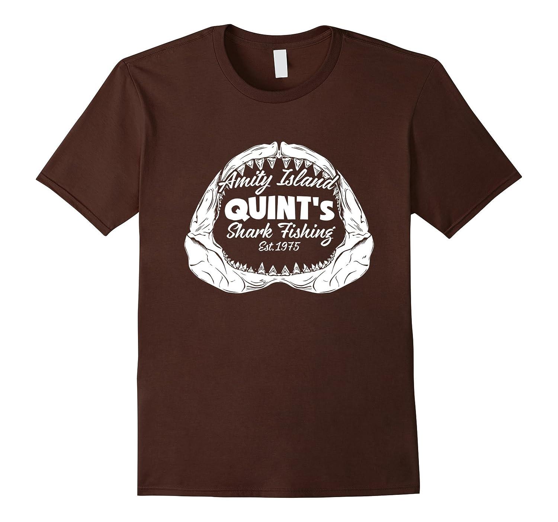 Amity Island Funny shark t shirt-Art