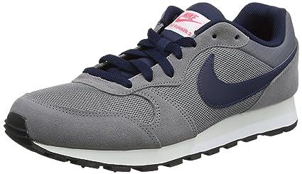 df734ced6e2 NIKE Men's MD Runner 2 Shoes Gunsmoke/Obsidian/Hot Punch 7.5