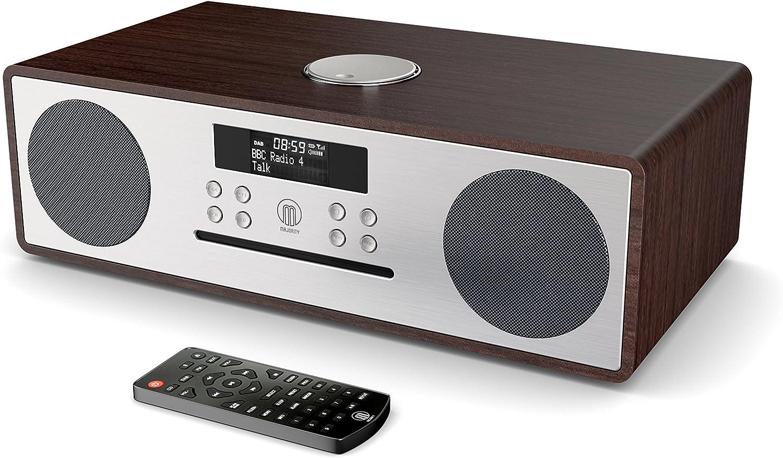 Oakington Radio Digital Dab/Dab+/FM, CD Player Reproductor 16W