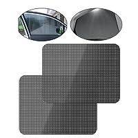 iZoeL LD0080 Auto Sonnenschutzfolie Statisch Fensterfolie, Black, 72cm51cm