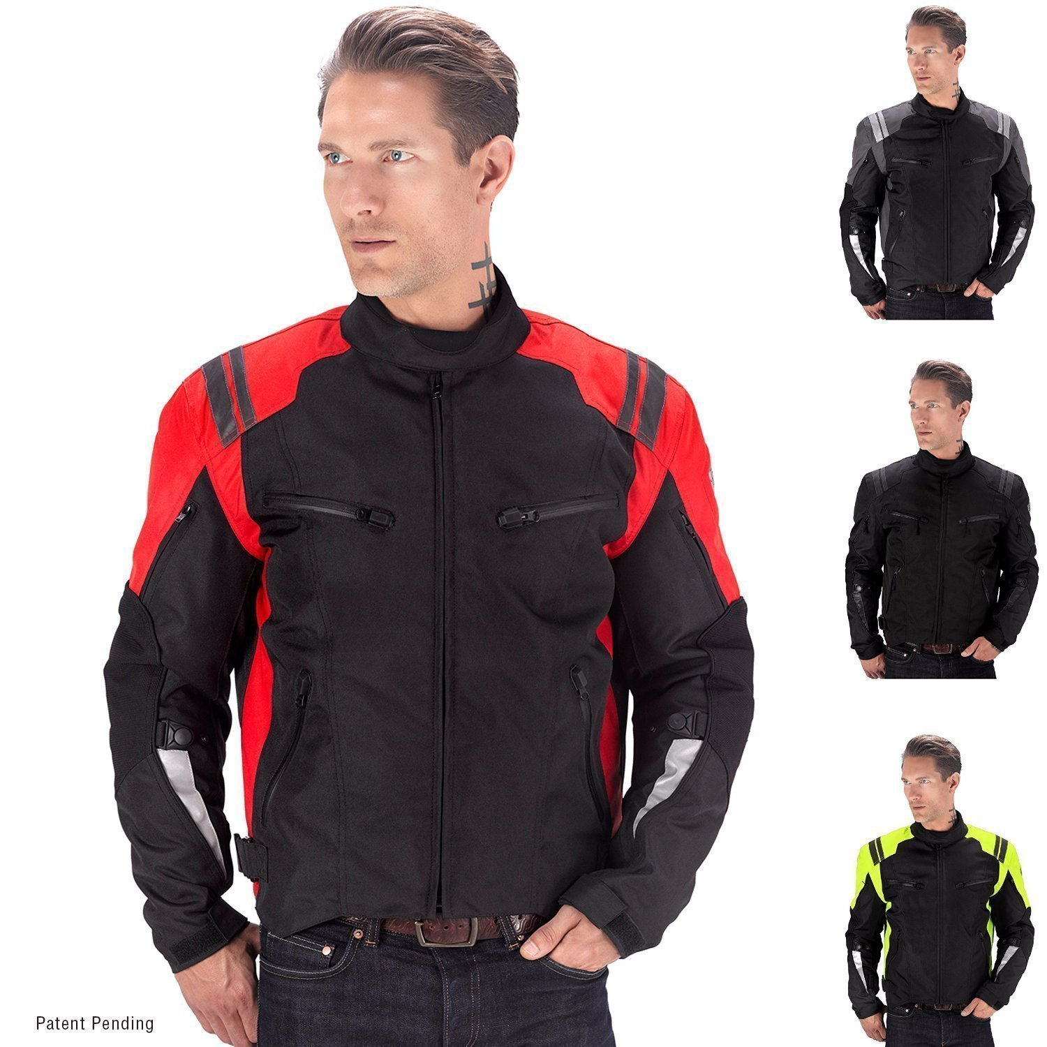 Viking Cycle Ironborn Motorcycle Textile Jacket For Men VC512G-L