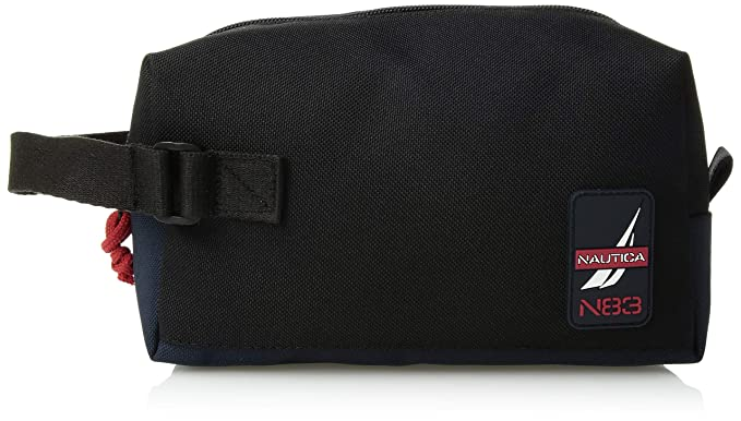 f4f6abe3a5 Amazon.com  Nautica Men s Canvas Toiletry Bag Travel Kit Organizer ...