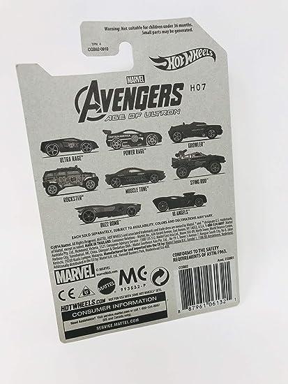 Amazon com: Hot Wheels Avengers Age of Ultron 1/8 Nick Fury