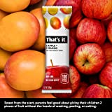 That's it. Apple + Mango 100% Natural Real Fruit