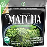 Matcha Green Tea Powder Organic-( Premium Culinary Grade ) - USDA & Vegan Certified-30g (1.06 oz) Perfect for Baking, Smoothies, Latte, Iced Tea, Ice Cream. Gluten & Sugar Free-The Oriental Organic