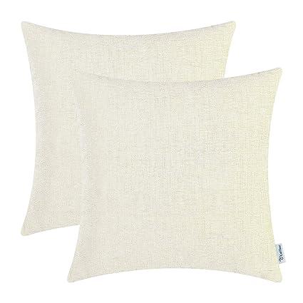 Amazon.com: CaliTime Juego de 2 fundas de almohada para sofá ...