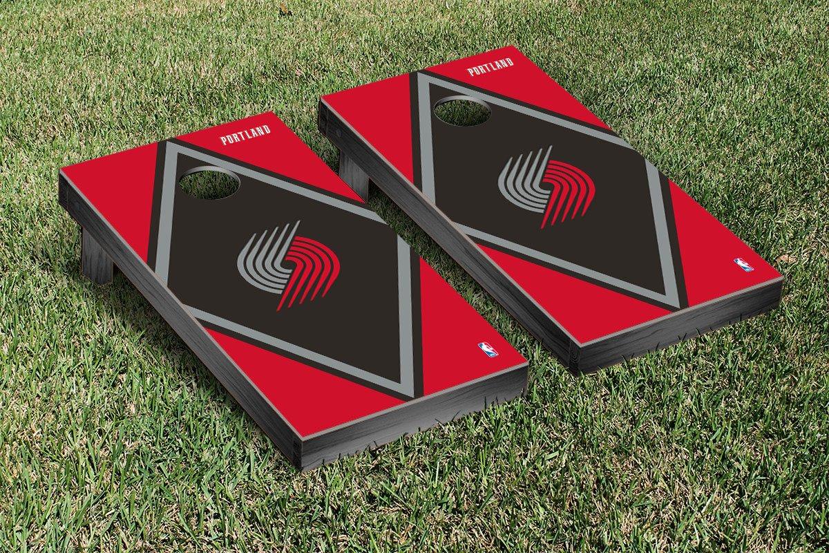 Portland Blazers Trailblazers NBA Basketball Cornhole Game Set Diamond Version