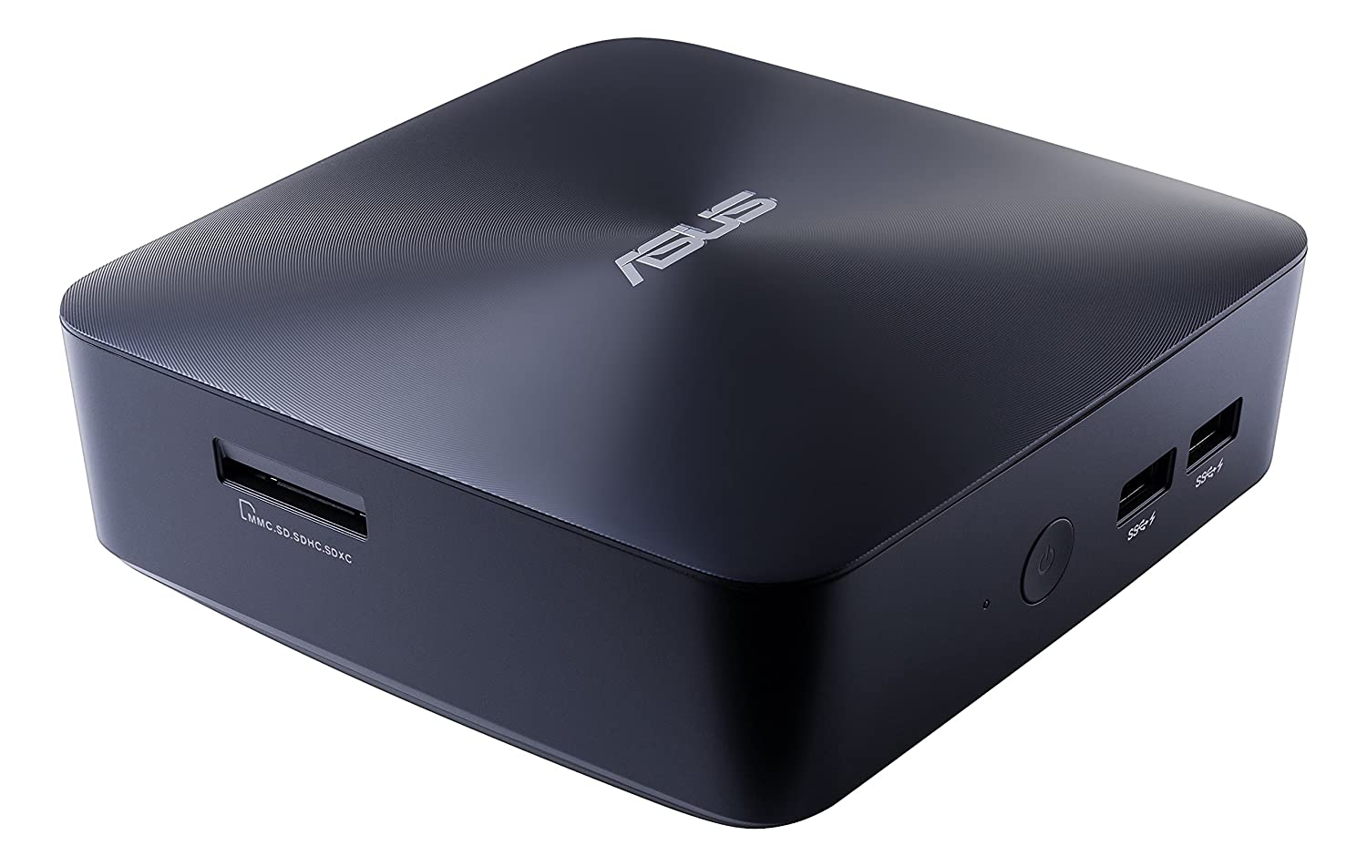 Asus Mini PC NUC Barebone UN65U-BM009M (i5-7200U/1*M.2 slot+1*2.5'slot/HD Graphics/VESA/2Y PUR) 90MS00W1-M00090