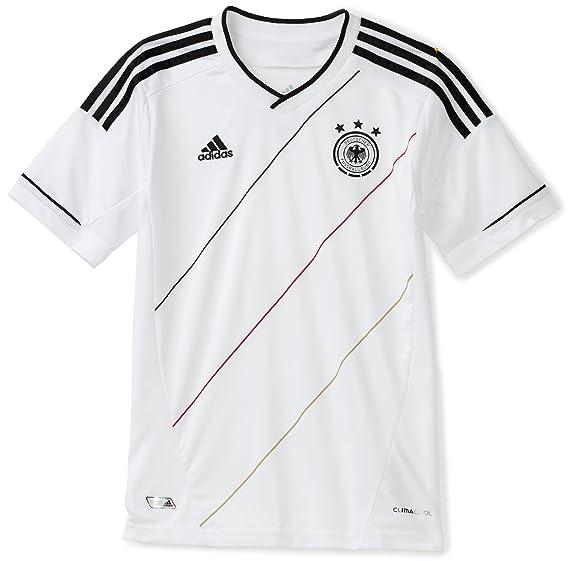 Amazon.com   Germany Youth Home Soccer Jersey   Sports Fan Jerseys    Clothing 57f0e5a93