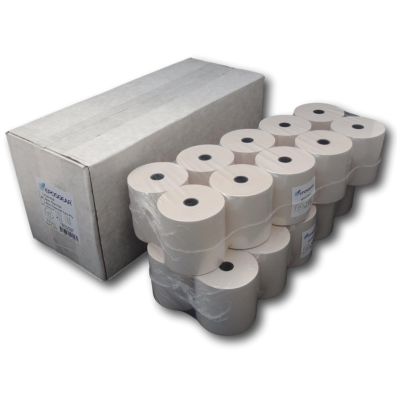 40 Rolls 57mm x 80mm 57x80 Thermal Paper Till Cash Register Machine Receipt Printer Rolls EPOSGEAR/®