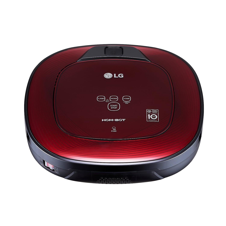LG CR3365RD Bolsa para el polvo 0.6L Rojo aspiradora robotizada - aspiradoras robotizadas (Bolsa para el polvo, 0,6 L, Rojo, LED, 60 dB, Espiral, Mancha, ...