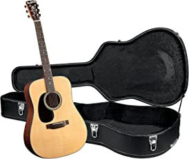 Blueridge BR-40LH Contemporary Series Left-handed Dreadnought Guitar with Hardshell Case