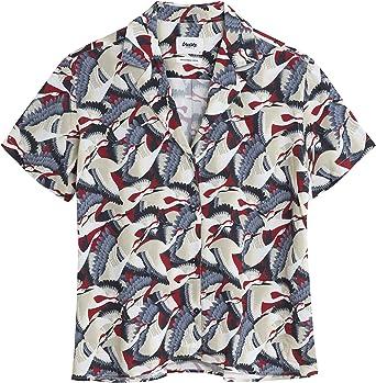 Brava Fabrics Blusa Aloha Crane for Luck - Viscosa Ecovero ...
