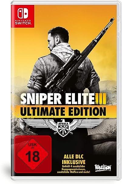 Sniper Elite 3 ULTIMATE EDITION - Nintendo Switch [Importación ...