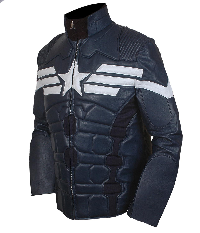 F/&H Mens Captain America Winter Soldier Jacket