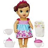 Baby Alive Lil' Sips Baby Has a Tea Party Doll (Brunette)