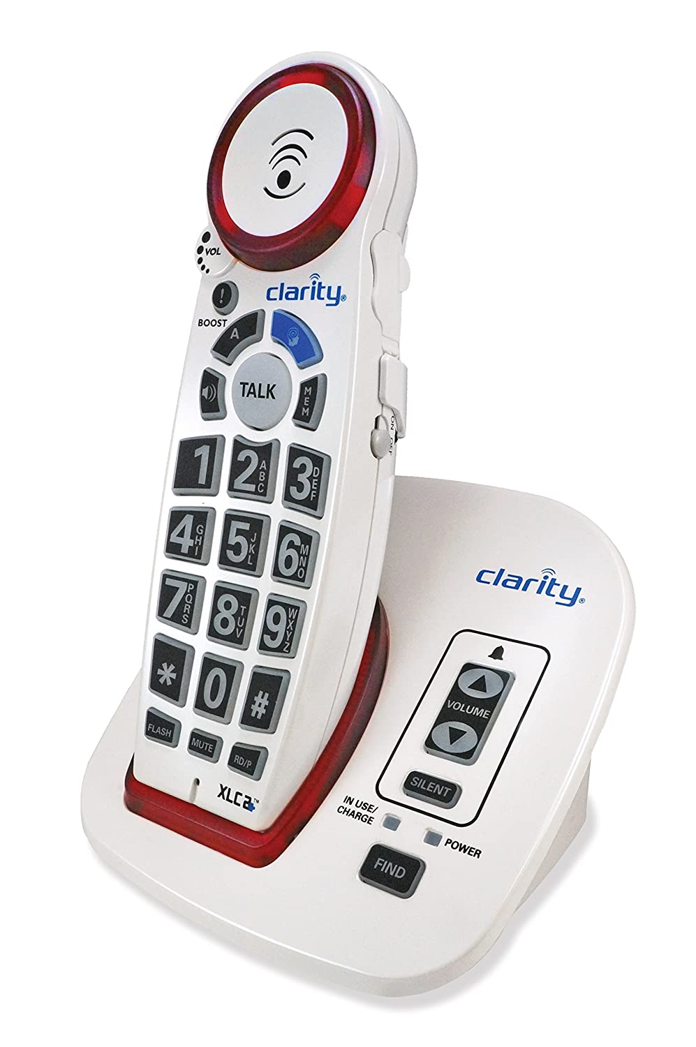 Clarity DECT 6.0 Amplified Big-Button Speakerphone with Talking Caller ID - 59522.000999999997