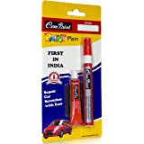 Com-Paint Paint Pen Kit for Maruti Cars (Glistening Grey)