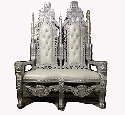 Double King David Lion Throne Chair/Bench - Royal Lion Party Throne Gothic  Carved From - Amazon.com: Double King David Lion Throne Chair/Bench - Royal Lion