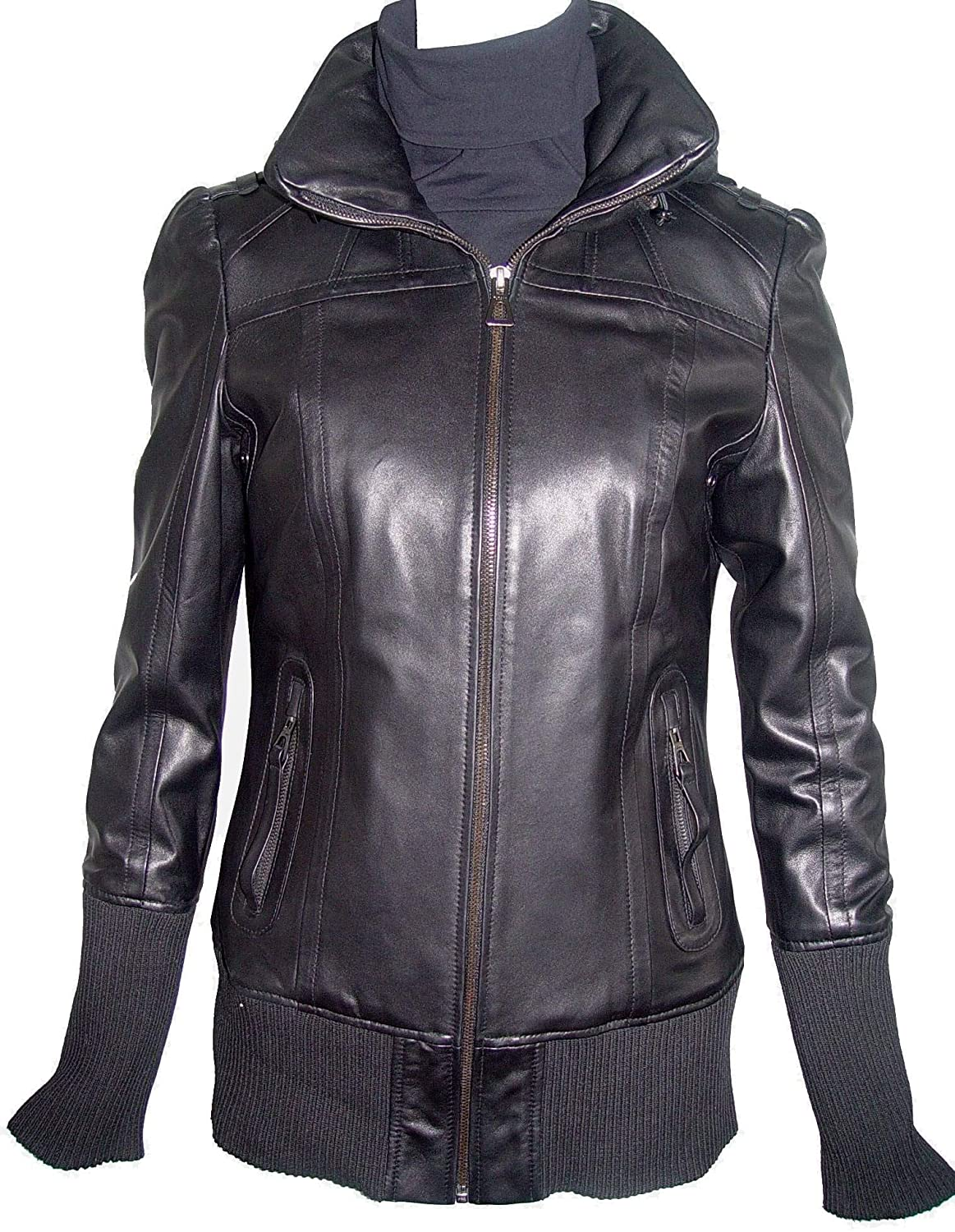 Paccilo 4021 Luxury Best Cute Leather Jackets Fashion Leather Hoodie Jackets 4021prmphrz