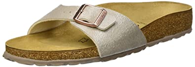 Details zu Birkenstock Madrid Schuhe Sandalen Pantoletten Birko Flor Klassische Farben