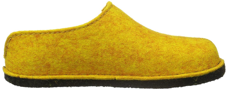 Haflinger Unisex-Erwachsene Flair Smily Pantoffeln Gelb Gelb Pantoffeln (Mais 252) 2ff9c5