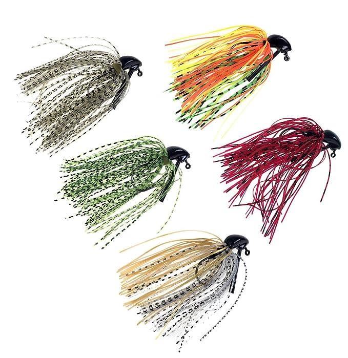 10piezas 10g señuelo de Buzz Jigs de plomo cabeza cebos de pesca anzuelos Fish Hook: Amazon.es: Deportes y aire libre