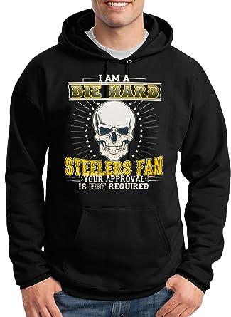 sale retailer 66252 280fd MYOS Die Hard 'Steelers Fan' Hoodie by
