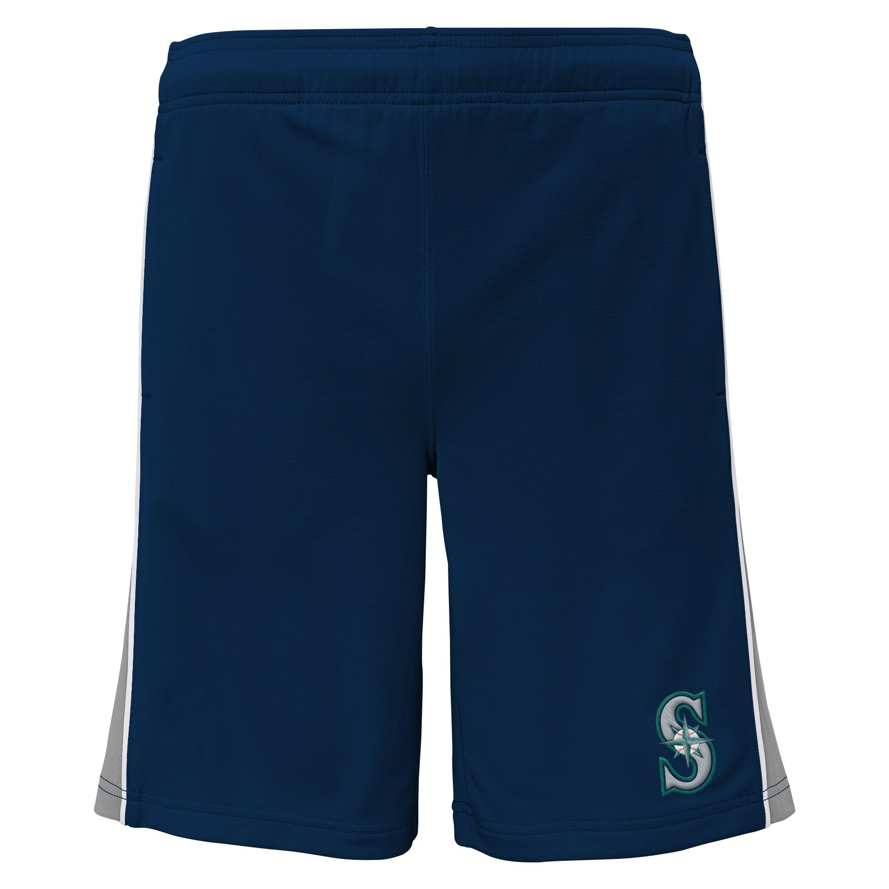 Outerstuff MLB Seattle Mariners Youth Boys 8-20 Baseball Classice Short-XL (18), Athletic Navy