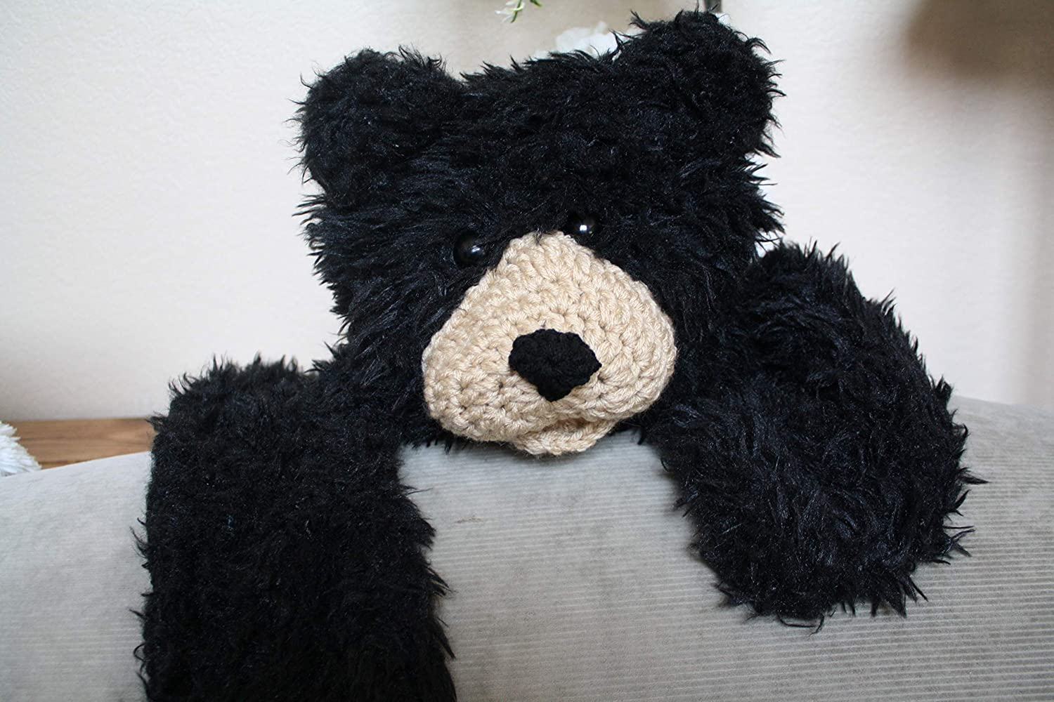 Free Crochet Pattern for an Amigurumi Teddy Bear in a Sweater ... | 1000x1500