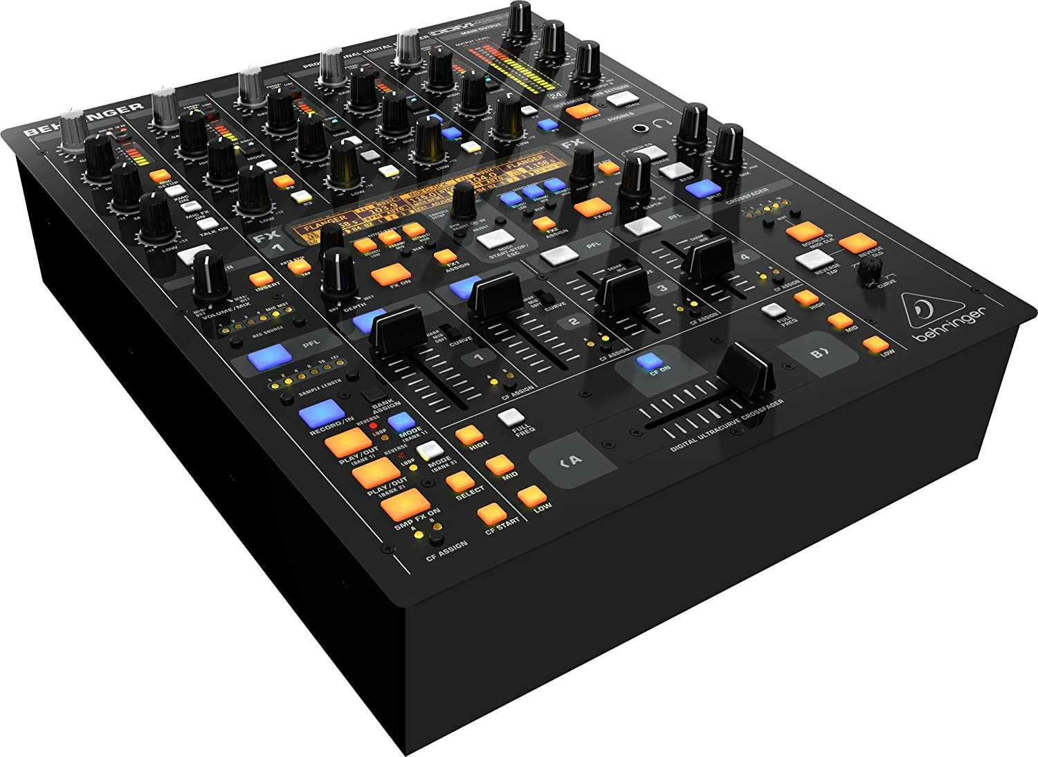 Behringer Digital Pro Mixer Ddm4000 Musical Instruments Dictionary Of Electronic And Engineering Terms Audio Circuit