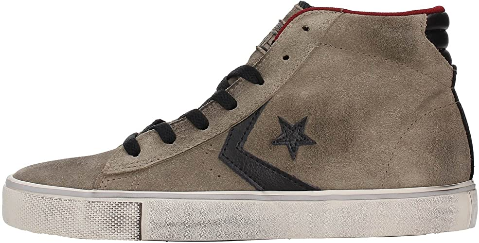 converse homme leather
