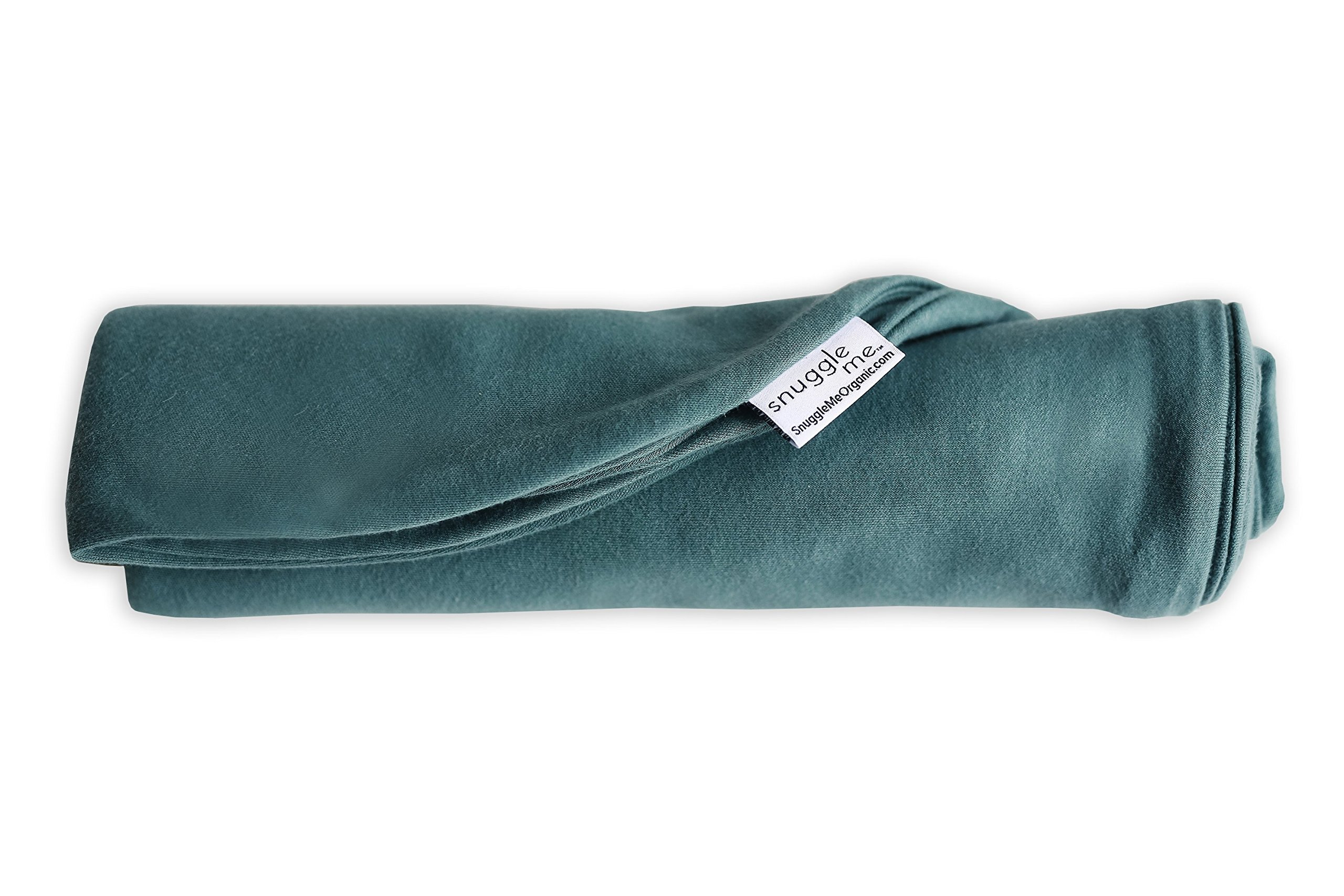 Snuggle Me Extra Organic Cotton Cover for the Snuggle Me Infant Padded Loungers with Center Sling Moss