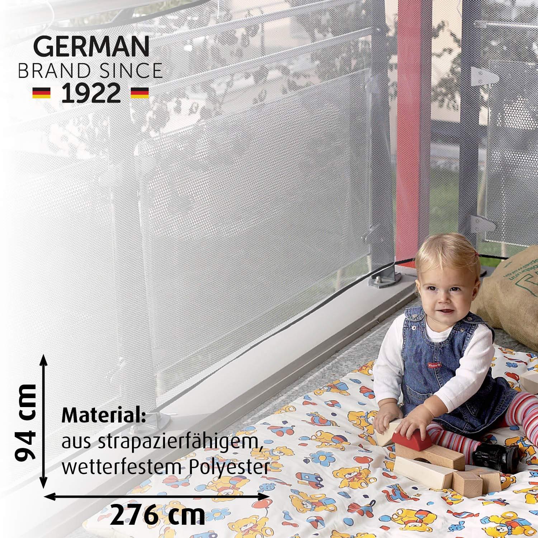Reer 71743 94cm x 294cm Red de seguridad para balcones