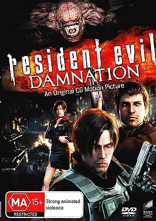 Amazon Com Resident Evil Damnation Animated Non Usa Format