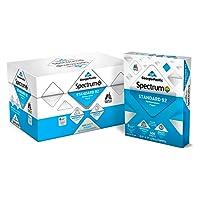 "Georgia Pacific 991322C Spectrum Standard 92 Multipurpose 8.5 x 11"" 1 box of 10 packs 5000 sheets"
