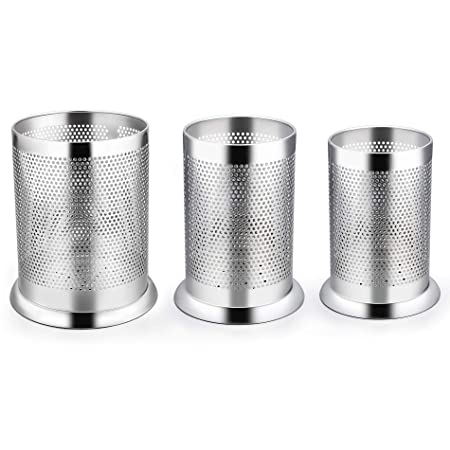 Amazon.com: LIANYU - Juego de 3 soportes para utensilios de ...