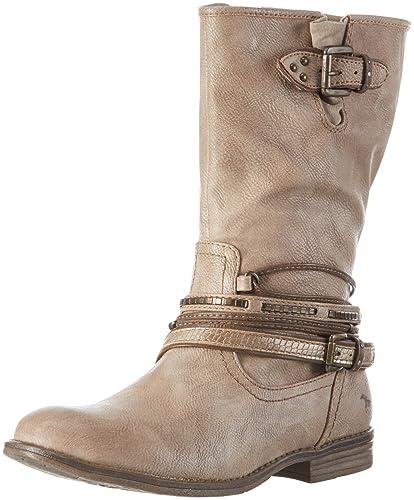 amazon bottes mustang femme
