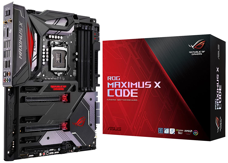 ASUS ROG Maximus X Code S LGA1151 DDR4 DP HDMI M 2 Z370 ATX Motherboard