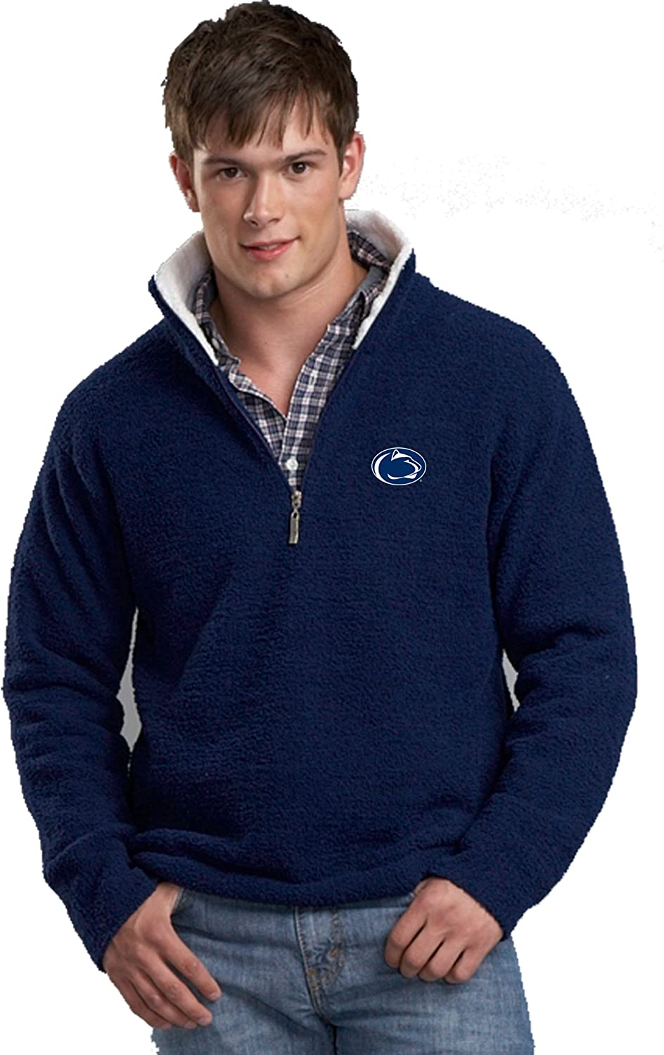 NCAA Penn State Nittany Lions Kashwere U Half Zip Pullover With Contrasting Collar