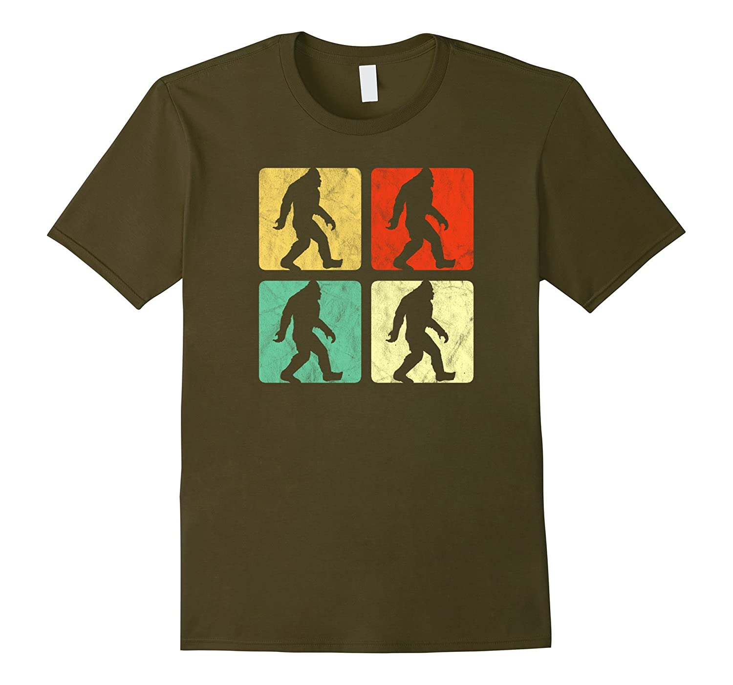Retro Bigfoot Pop Art Design T-Shirt - Believe!-FL