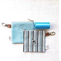 Easybag Blu Stripe - Portasacchettini igienici per cane