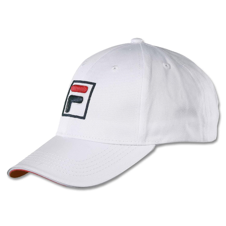 Fila tenis unisex gorra de béisbol forze - Blanco/Rojo: Amazon.es ...