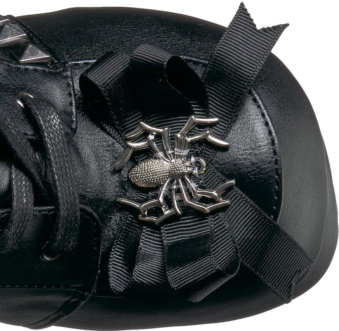 Demonia Womens Charade-150 Knee High Boot