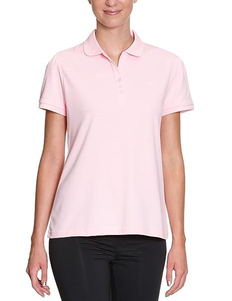 Nike - Polo para Mujer, tamaño XS, Color Rosa Claro/Blanco: Amazon ...