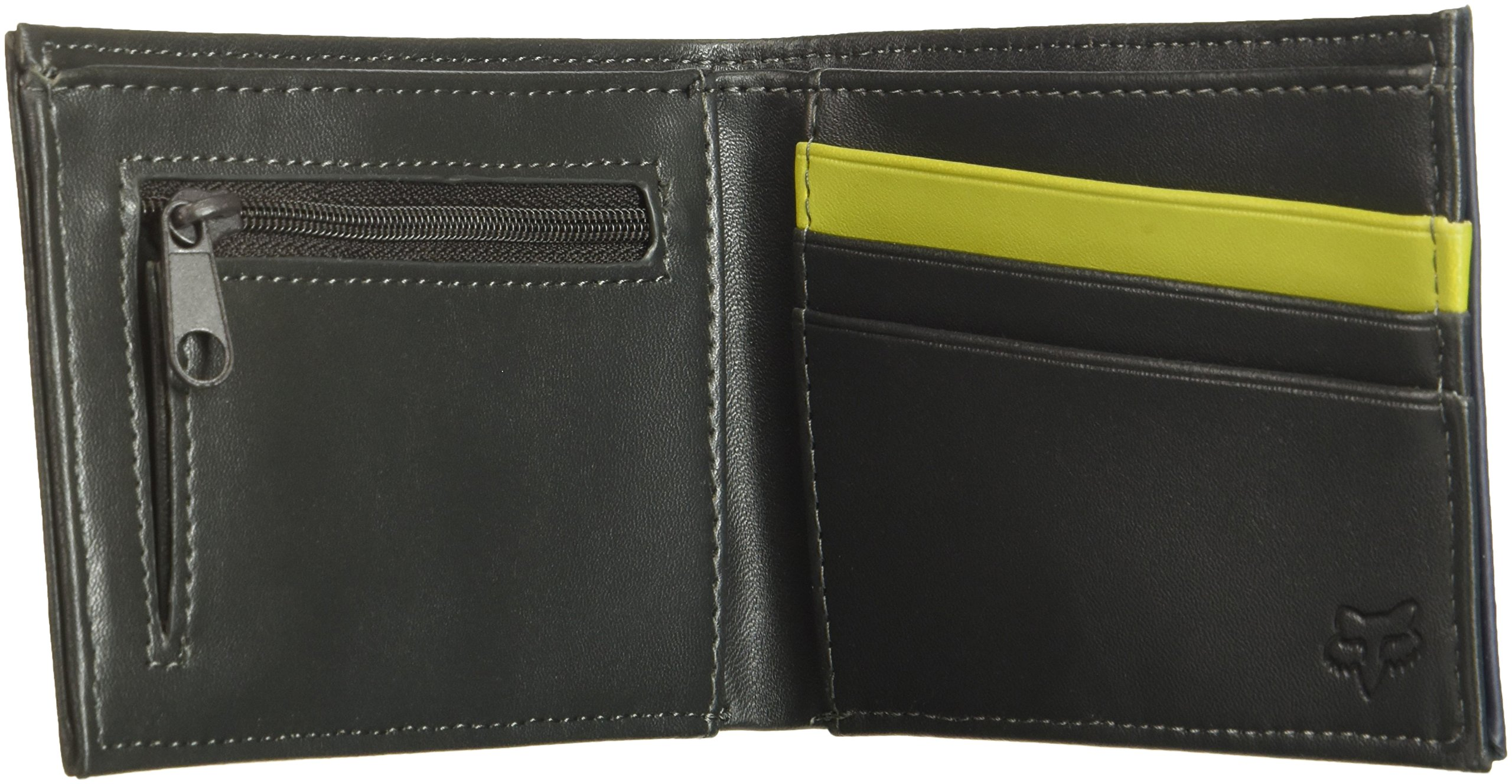 Fox Men's Draftr Pinned Pu Wallet, black, One Size by Fox (Image #4)